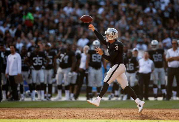 Oakland Raiders offense needs to start finding end zone. NFL football