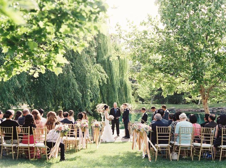 Backyard Garden Wedding In Northern California