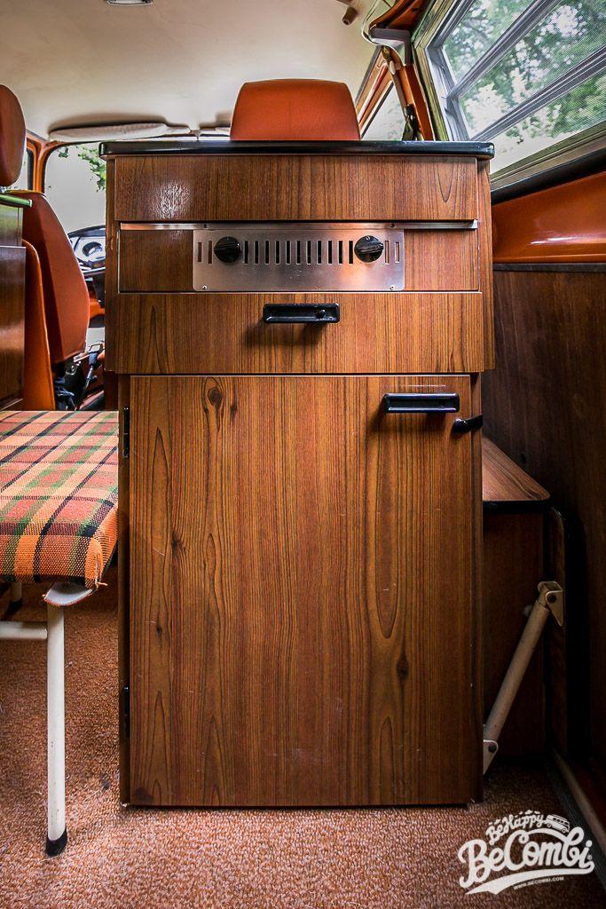 A L Interieur De Notre Combi Westfalia 1975 Combi T3 Combi Interieur