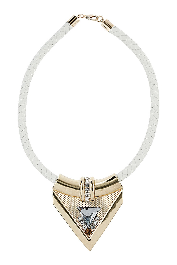 Lux Triangle Collar - Necklaces - Jewellery - Bags & Accessories - Topshop