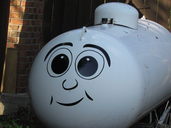 Dress up Your Boring Propane Tank With Our Funny Face by WrenGifts