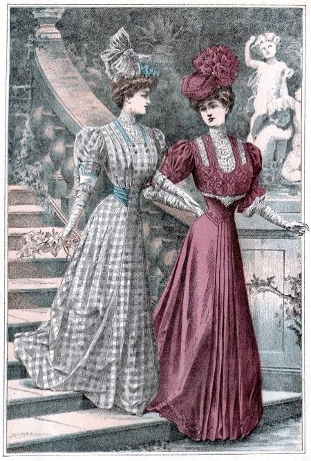 Fashion plate, 1906, The Delineator