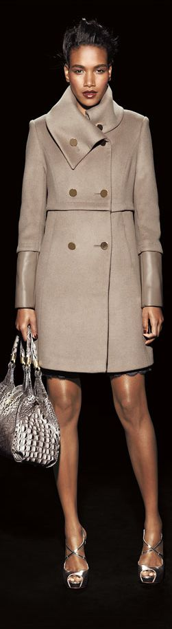 The most opulent fur coats #Moncler #Coats of the season, see the full fashion editorial from here.