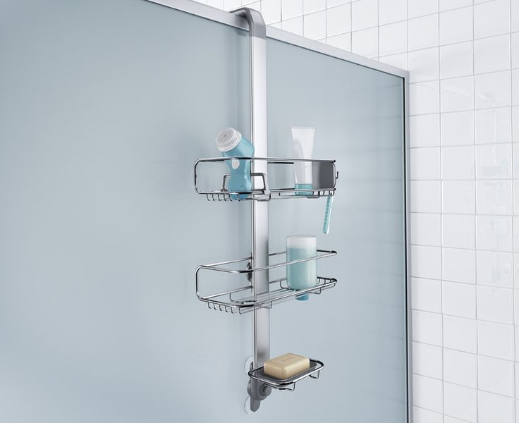 Best Over Door Shower Caddy Stainless Steel Anodised Aluminium 640 x 480