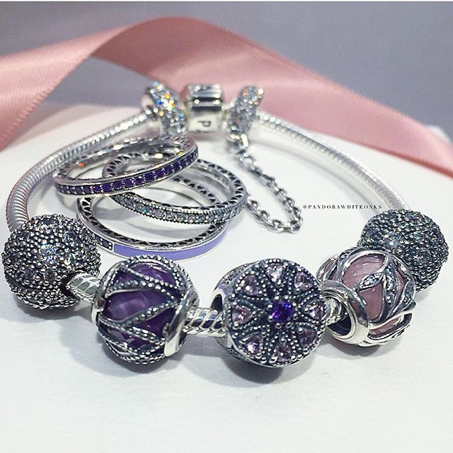 The new Autumn Collection with sterling silver pieces embellished with pavé…