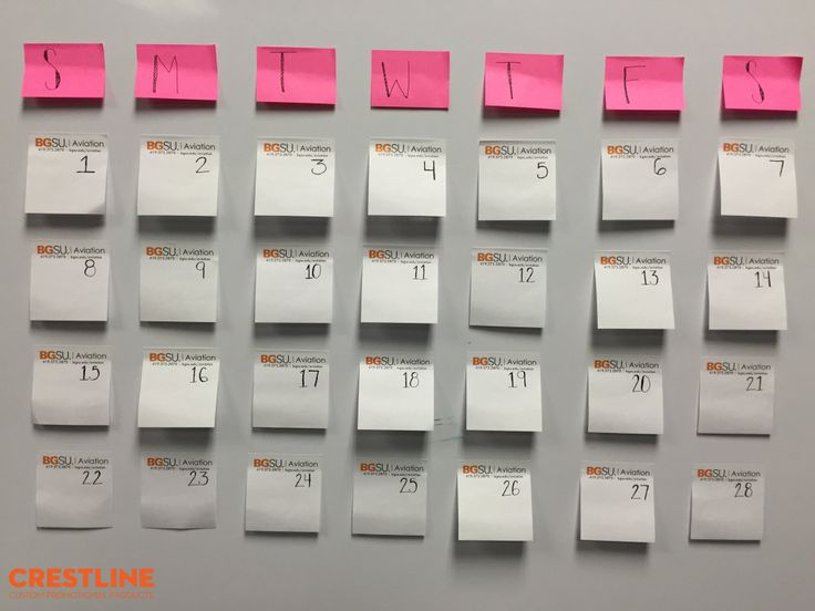 Weekly Calendar Sticky Notes : Images about cool and cute postitnotes on
