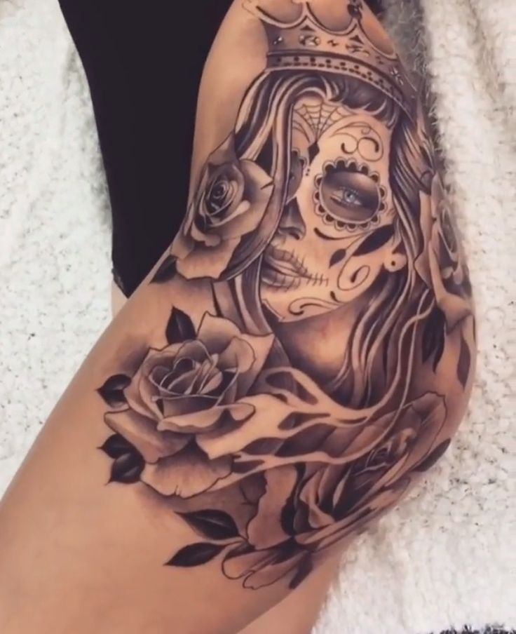 Placement for my day of the dead woman