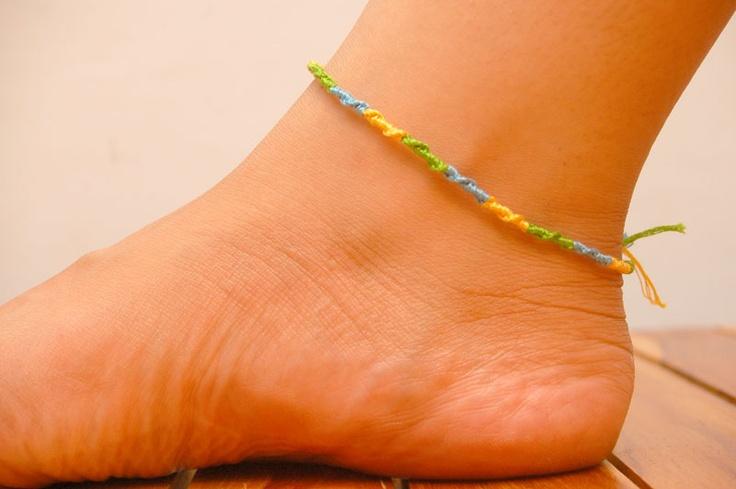 How to Make Ankle Bracelets