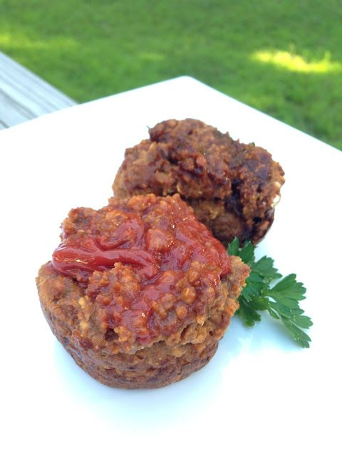 Mini Vegetarian Meatloaves Recipe — Dishmaps