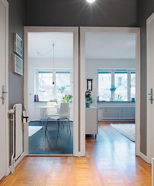 Apartamento de 40 m2 práctico y cómodo con el dormitorio adosado