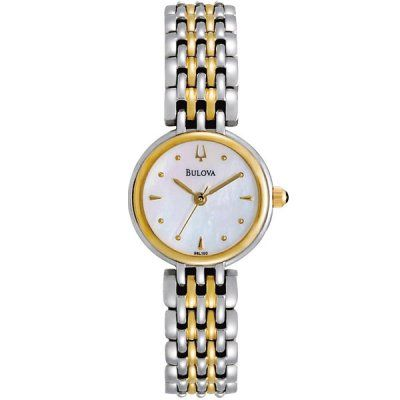 Bulova - Ladies Two Tone Stainless Steel Essentials Watch - 98L150  RRP: £169.00 Online price: £101.00 You Save: £68.00 (40%)  www.lingraywatches.co.uk