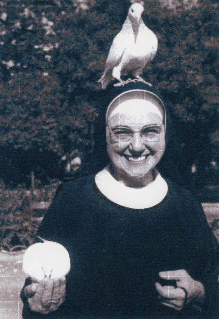 Sister Annunziata in Rome in the 1960s. Photo courtesy of Cathleen Falsani.