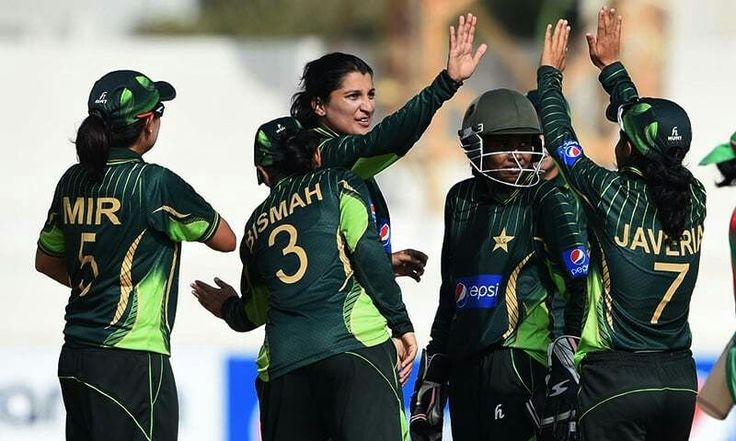 Pakistan women cricket players