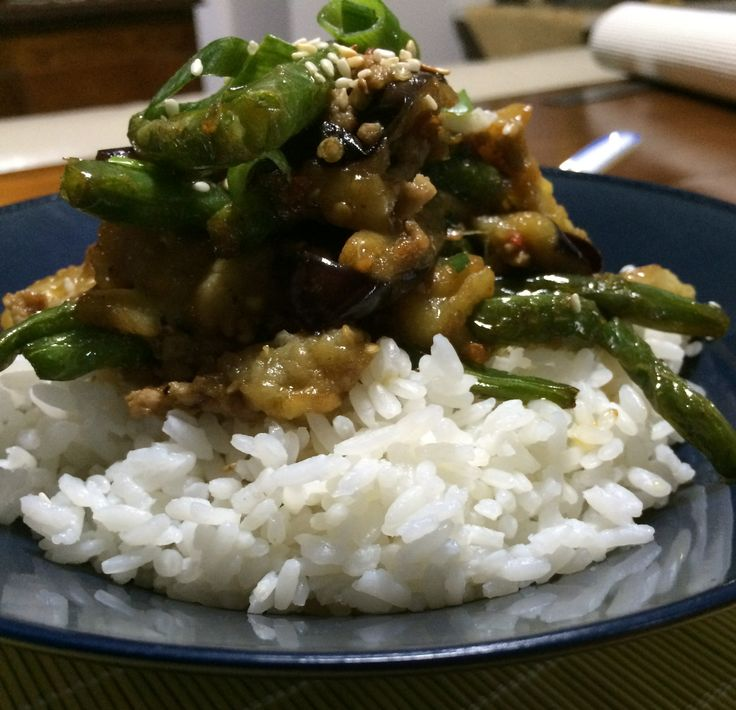 Mabo Nasu - Japanese Eggplant #leeandhocklaiskitchen