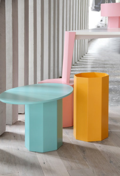 Deco/ Miami inspired pieces from TABLE IN WONDERLAND AND FAMILY | Fabrica