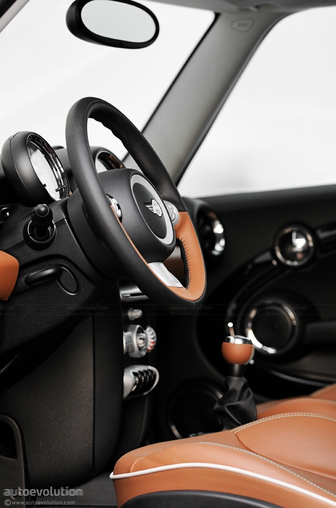 2010 Mini Cooper 50 MINI Mayfair Edition. Hot Chocolate Metallic exterior paint, toffee interior.  <3