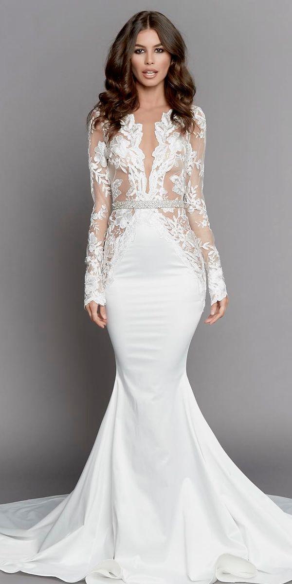 Tattoo Lace Wedding Dress
