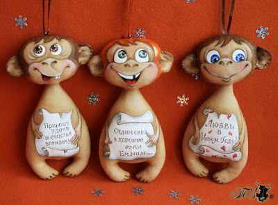 Сказки у камина...: Кофейные обезьянки.
