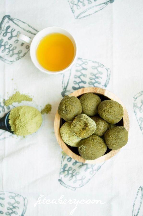 Matcha Green Tea Power Balls – FitCakes