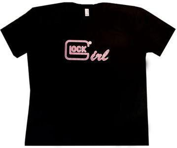 Glock Girl T-Shirt - Glock parts, accessories, and custom Glock refinishing at Rockyourglock Store