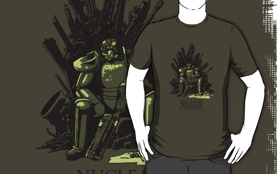 Nuclear Winter is Coming Fallout T-Shirt Click Here To Buy