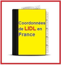 Les coordonnées de Lidl France (Magasin hard discount) pour les contacter facilement grâce aux adresses postales, numéro de téléphone, E-mail, magasin...