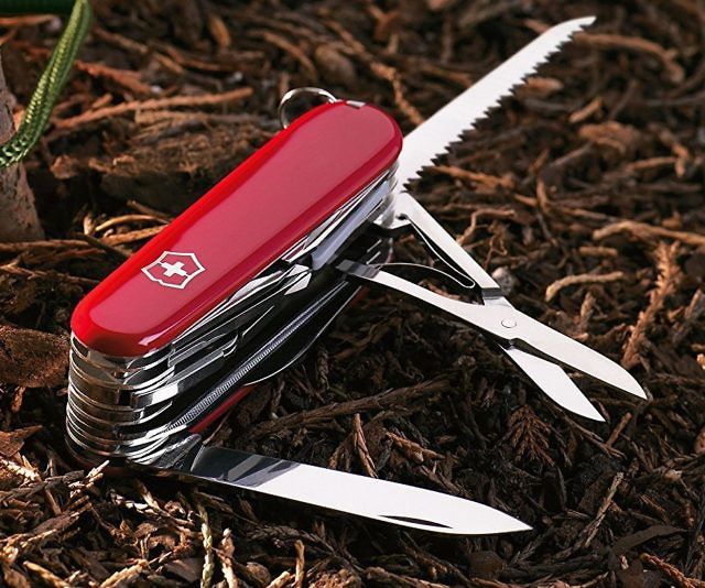Swiss Army Pocket Knife - http://tiwib.co/swiss-army-pocket-knife/ #ToolsAccessories