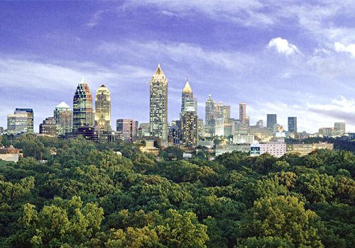 #8 Atlanta, GA   Key Stats: Hotels 550;  Total Sleeping Rooms 90,000; Largest Exhibit Space 151,200 Sq. Ft.: Atlanta Stockings, Atlanta Trips, Atlanta Staycat, Atlanta Georgia, Atlanta Skyline, Atlantaphoto Com, Georgia Skyline, Atlanta Impressions, Atlanta For Ryan