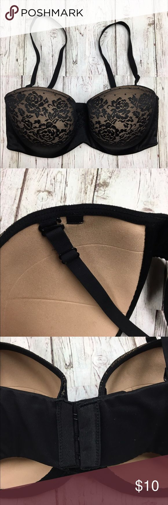 Soma Bra 32DDD Has been worn about 1 time. This bra is in a great condition! Looks brand new still. You will receive Bra washed and ready to wear. Most Soma bras is $30+ a bra in this style. This is an awesome deal to get a beautiful bra! Soma Intimates & Sleepwear Bras