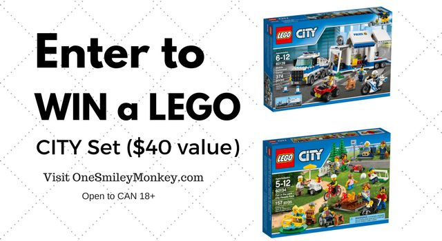LEGO City of Tomorrow {Giveaway}