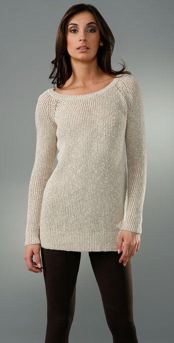 Suéter cuello bote / cuello barca | Boat neck sweater