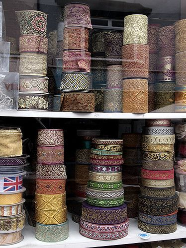 Beautiful French Vintage Ribbons
