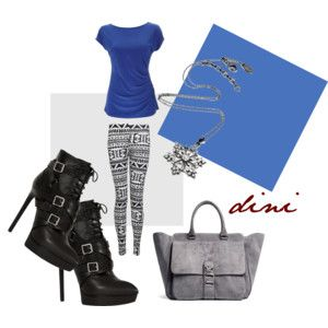 """""""morning blue"""" by dini-ph on Polyvore"""
