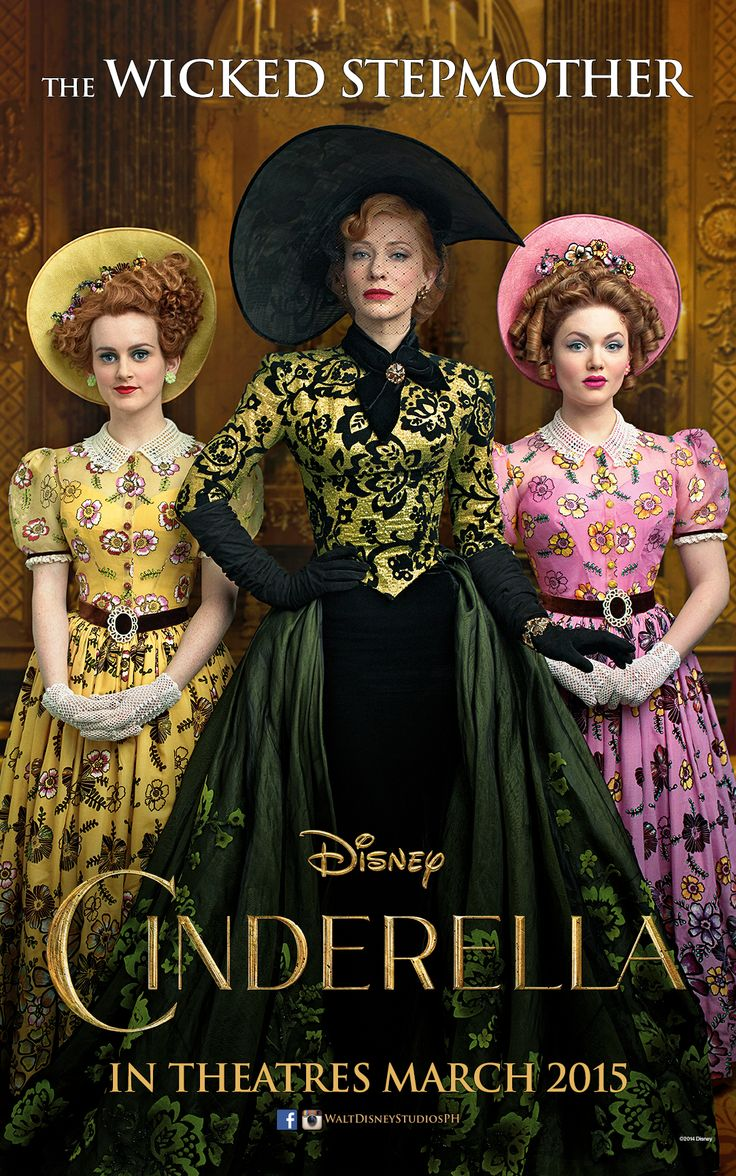 """""""You needn't call me that, Madam will do…""""  Cate Blanchett is The Wicked Stepmother. Cinderella opens in Philippine theatres March 2015."""