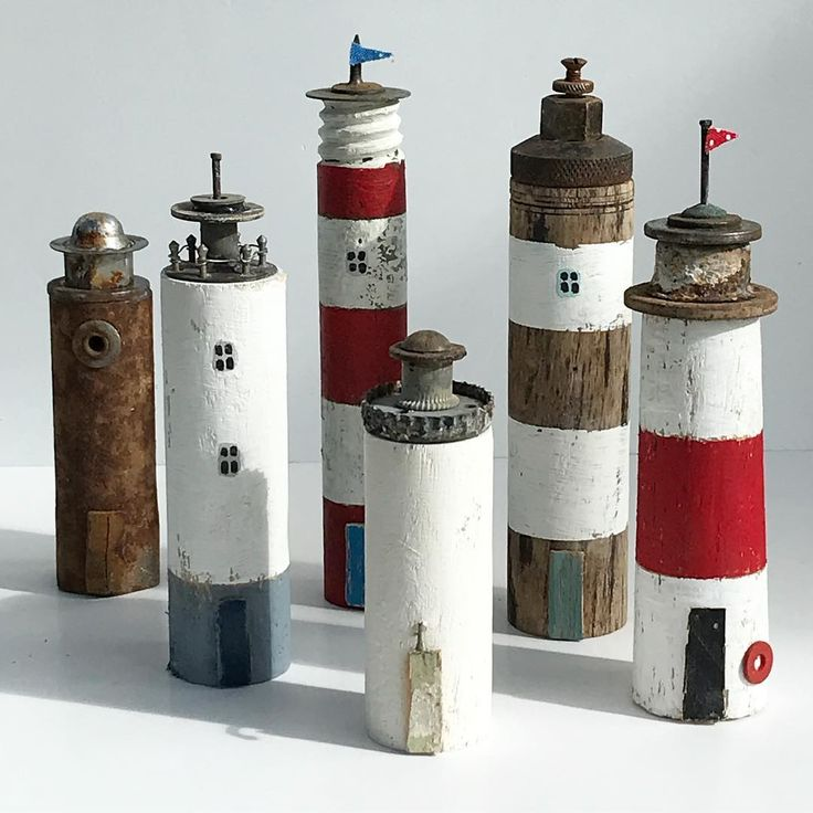 I've acquired lots of lovely old metal bits (technical term!) recently so have been making a few lighthouses ready for new pieces. I don't normall…