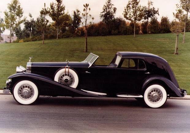 Rolls Royce Phantom II, body by Darrin for Countess Dorothy Di Frasso
