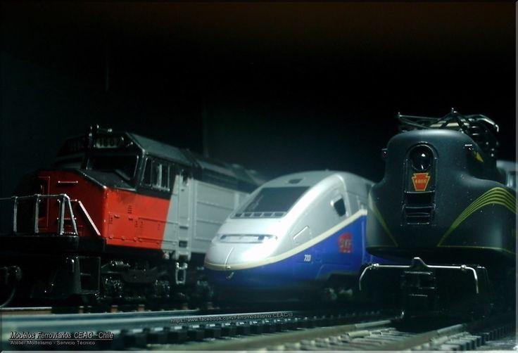 https://flic.kr/p/PDz7db | Trifecta |  — Ficha Técnica Modelismo: #13385-4024 Modelos Ferroviarios CEAC - Chile