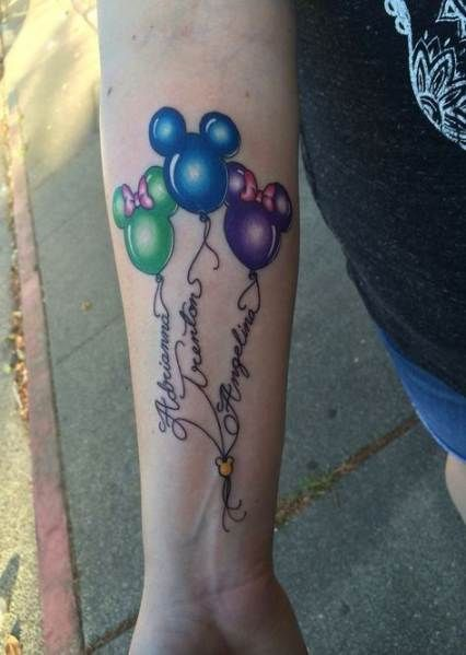Tattoo Von Kindernamen