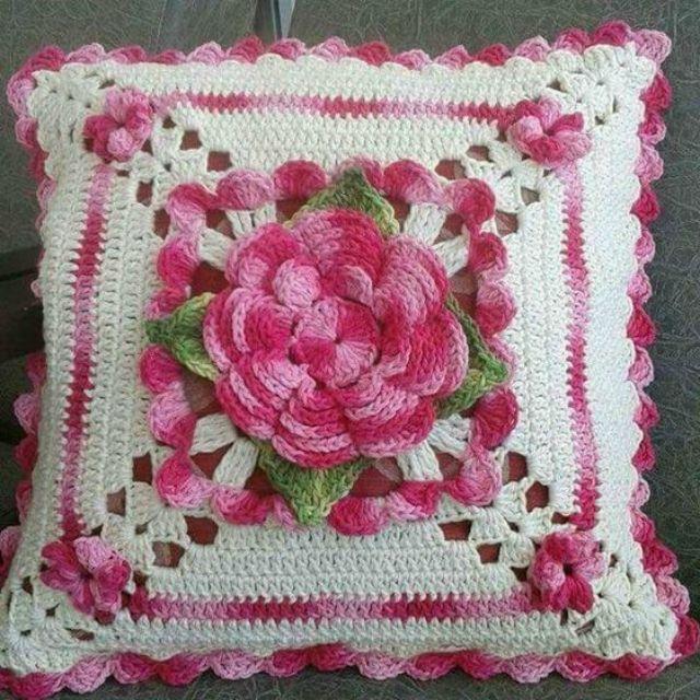 Almofada De Croche Passo A Passo 38 Fotos Almofadas De