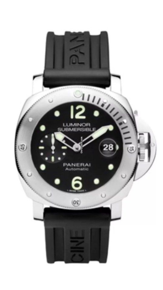 Heritage Watches Panerai Luminor Submersible ad: £4,690 Panerai Luminor Submersible Ref. No. PAM 01024; Steel; Automatic; Condition 0 (unworn); Year 2017; With box; With papers; L