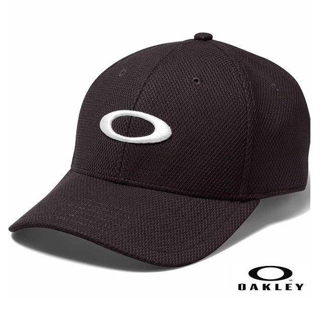 OAKLEY GOLF ELLIPSE HAT BLACK - 91809-01K
