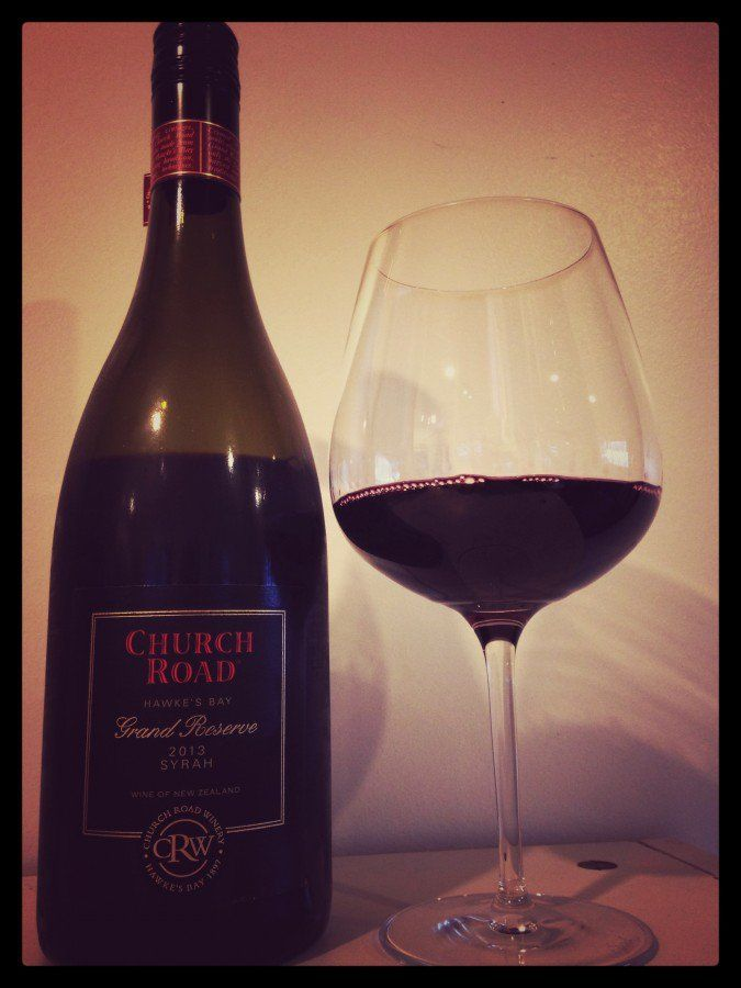 Score 94/100. Review and tasting notes of 2013 Church Road Grande Reserve Syrah winner of Trophy Best New World Red Wine and Champion Air New Zealand Awards