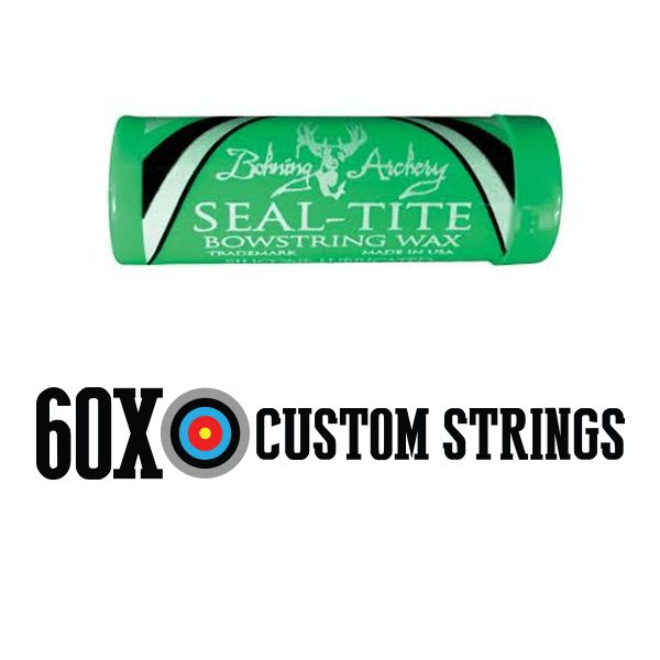 Bohning Seal-Tite Bow String Wax Bohning Seal-Tite® silicone-based bow string wax for compounds, recurves and longbows prolongs life of bow string and helps prevent fraying and bowstring dry-out. Designed and recommended for synthetic fiber bow strings and cables, Seal-Tite® resists penetration by water and keeps moisture out of the bow string, protecting critical bow string …