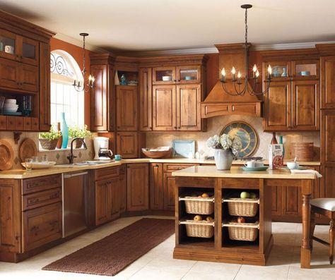 Beautiful Farmhouse Style Rustic Kitchen Cabinet