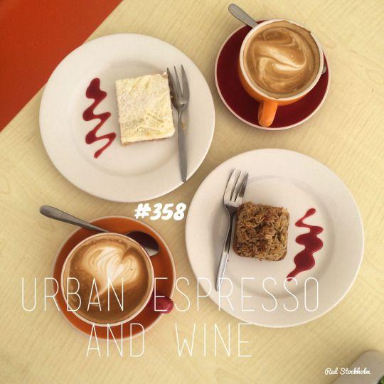 Urban Espresso. Sunshine Coast. 365 coffees. 365 cafes. 365 days.