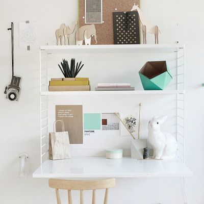 Charming cubby!