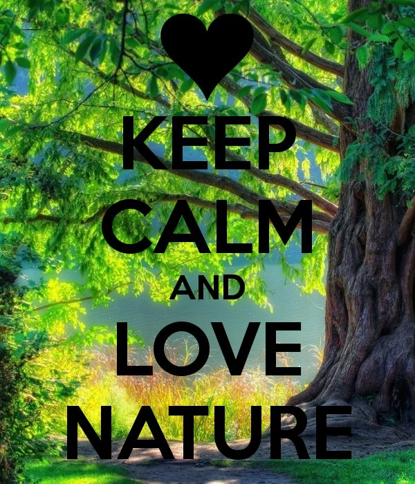 Keep calm and love #nature...