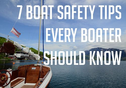 Whether you're on a lake, river, or charging across the Atlantic, boating...