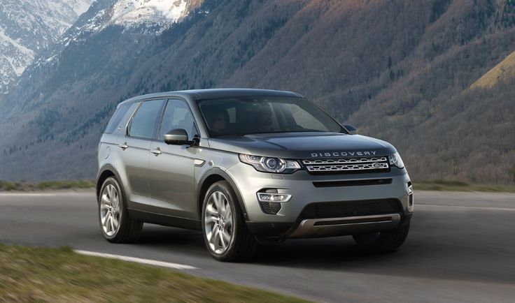 New Land Rover Discovery Sport 2016
