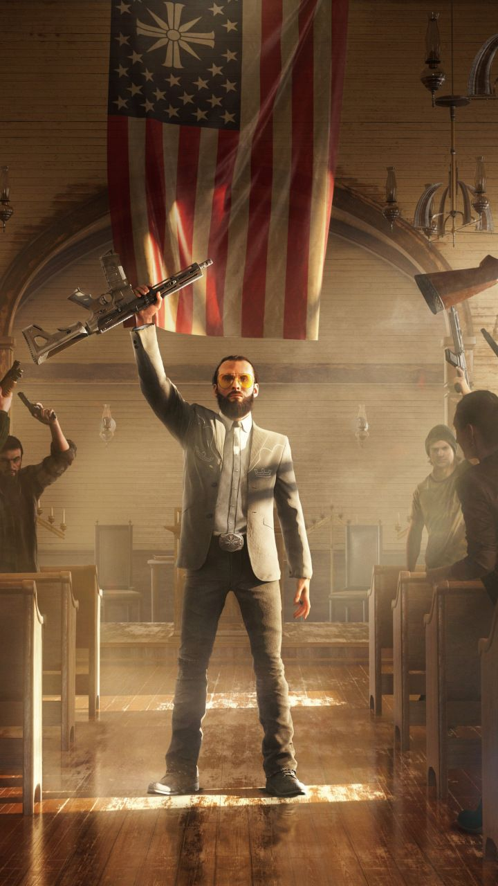 Download 720x1280 Wallpaper Far Cry 5 Video Game Samsung Galaxy